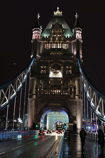 夜景##旅行#『塔桥夜景』伦敦塔桥是从英国