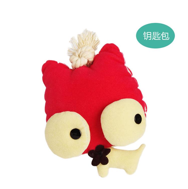 商品描述 大眼萌猫可爱的钥匙包,可爱卡通的设计,超级不同,放钥匙