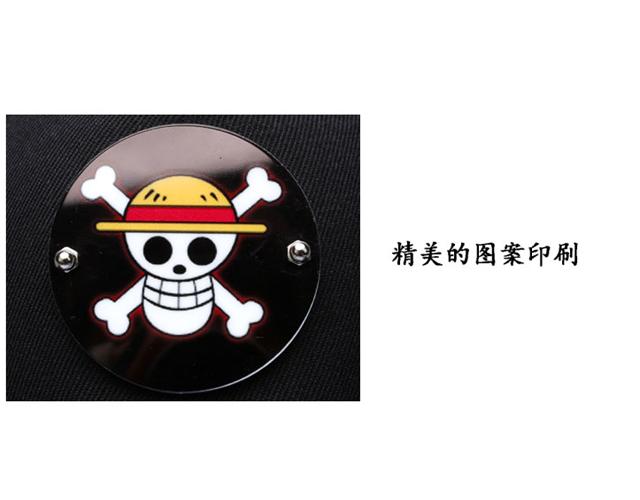【海贼王路飞骷髅头棒球帽】-配饰-配饰