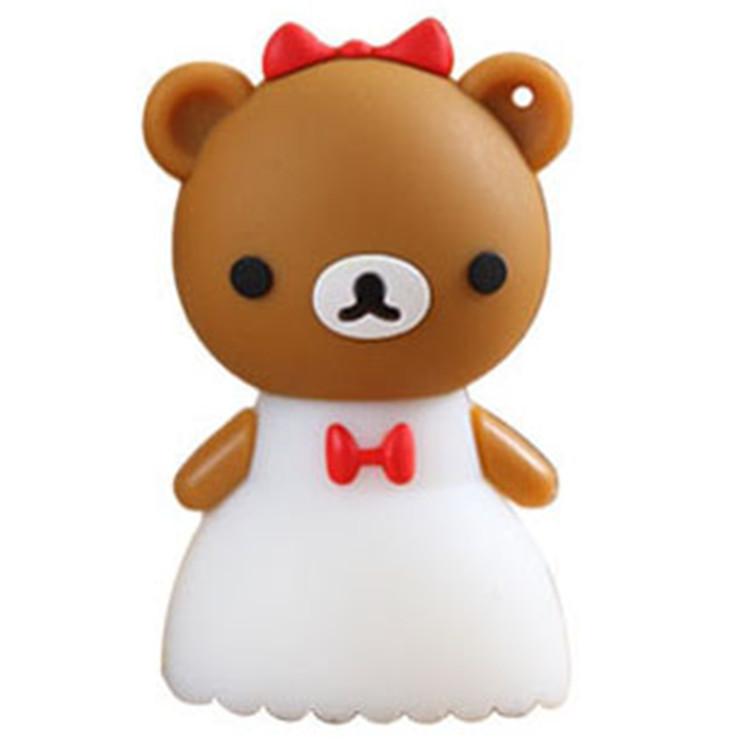 轻松熊婚礼熊可爱礼服小熊