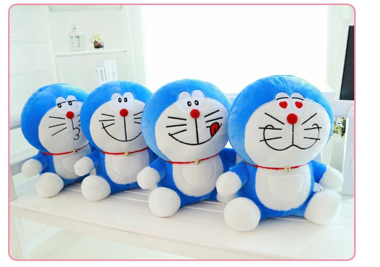 【可爱叮当猫公仔大号抱枕】-母婴-母婴毛绒布艺类